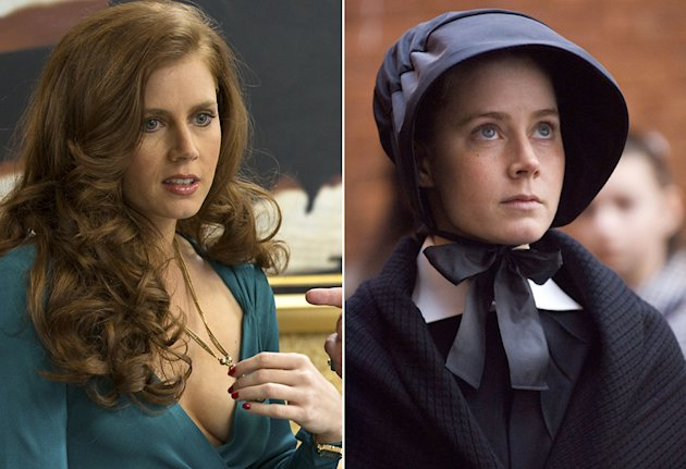 Amy Adams in 'American Hustle' and 'Doubt'