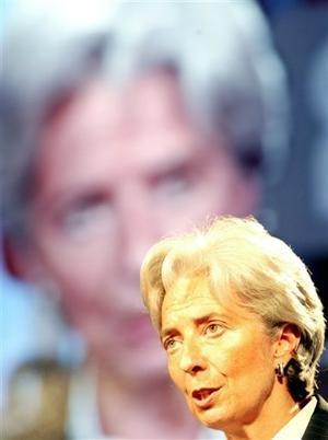 Christine Lagarde, titular actual del FMI (AP)