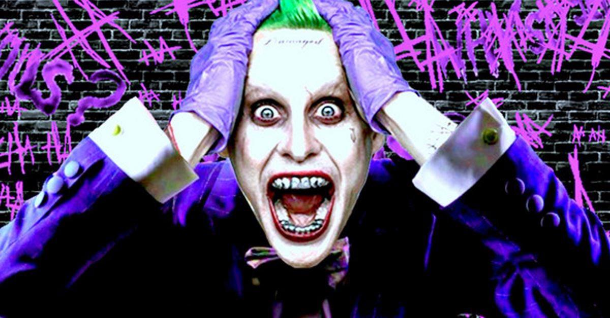 Leto's Joker Muscles Are Out Of Control. Crazy.
