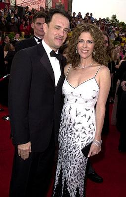 Tom Hanks and Rita Wilson 73rd Academy Awards Los Angeles, CA  3/25/2001