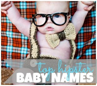 The top 10 hipster baby names