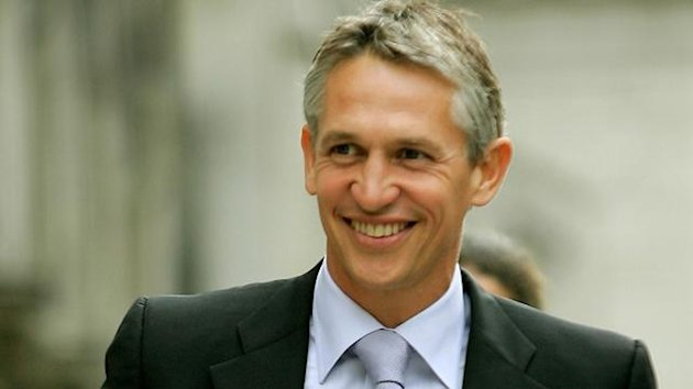 ormer England football international and current BBC sports presenter Gary Lineker