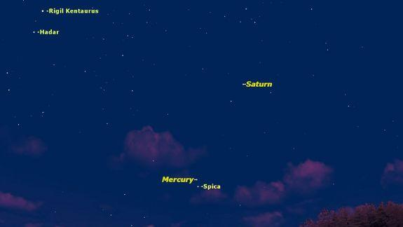 Mercury Gives Southern Skywatchers Its Best Show of 2014