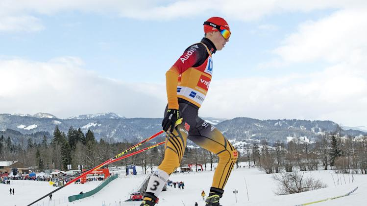 Frenzel wins season's 7th Nordic combined WCup