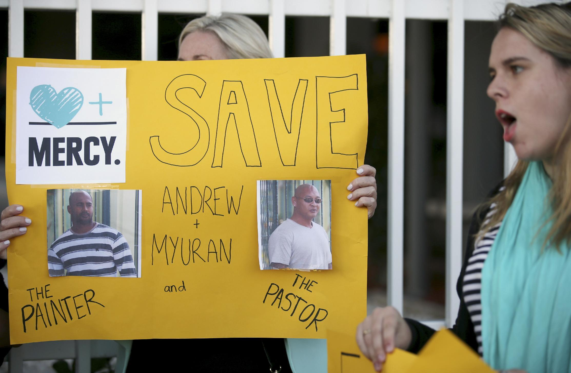 Australia can't do more for death row prisoners in Indonesia