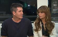 Simon Cowell and Paula Abdul chat with Access Hollywood's Billy Bush in Los Angeles on December 6, 2011 -- Access Hollywood