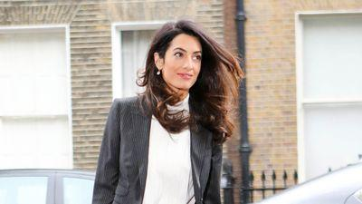 Amal Clooney's Officewear: Business on the Outside, Party on the Inside