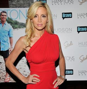 Camille Grammer steps out at Hamptons Magazine's celebration with cover star Andy Cohen at the Hudson Hotel in New York City on August 8, 2011  -- Getty Premium