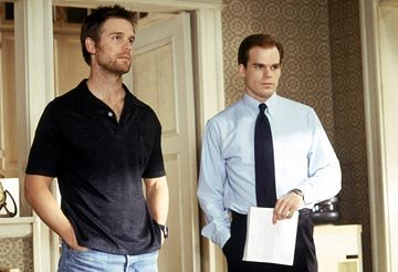 Peter Krause and Michael C. Hall