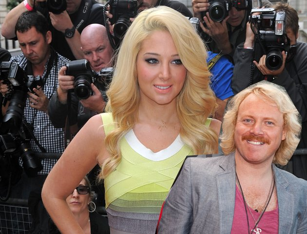 Tulisa and Keith Lemon