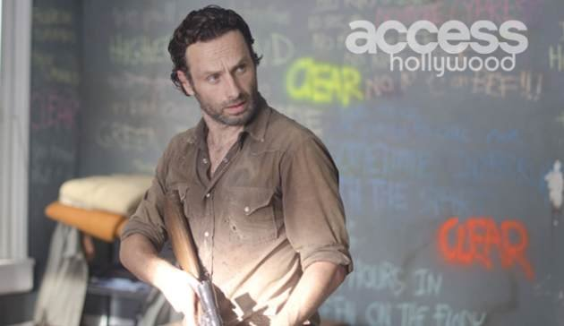 Andrew Lincoln as Rick Grimes in AMC's 'The Walking Dead,' Season 3, Episode 12, 'Clear' -- Gene Page/AMC