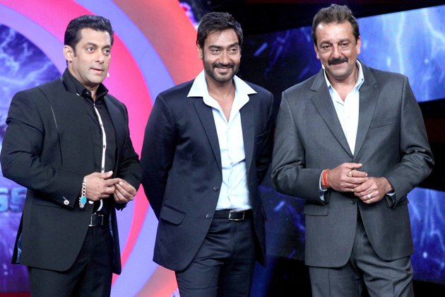 &amp;#39;Son of Sardar&amp;#39; cast and Salman have fun