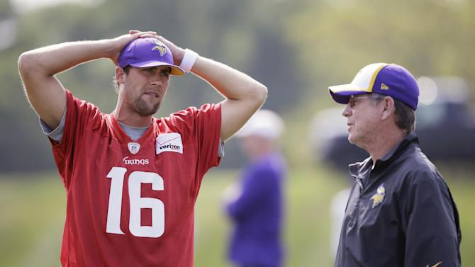 Zimmer happy he found 'perfect fit' with Vikings