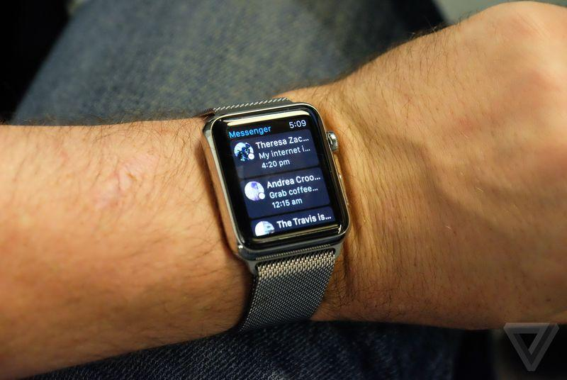 Facebook Messenger now works on Apple Watch, supports iPad multitasking