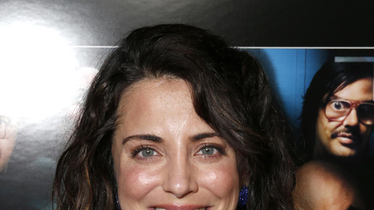 "Alanna Ubach attends the premiere of ""A Haunted House"" at the Arclight Hollywood on Thursday, Jan. 3, 2013, in Los Angeles. (Photo by Todd Williamson/Invision/AP)"