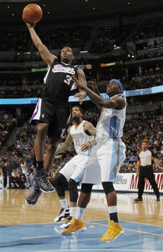 Lawson's 26 points lead Nuggets past Kings 121-93