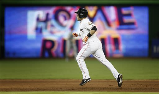 Marlins rally past Twins 5-3 for winning June