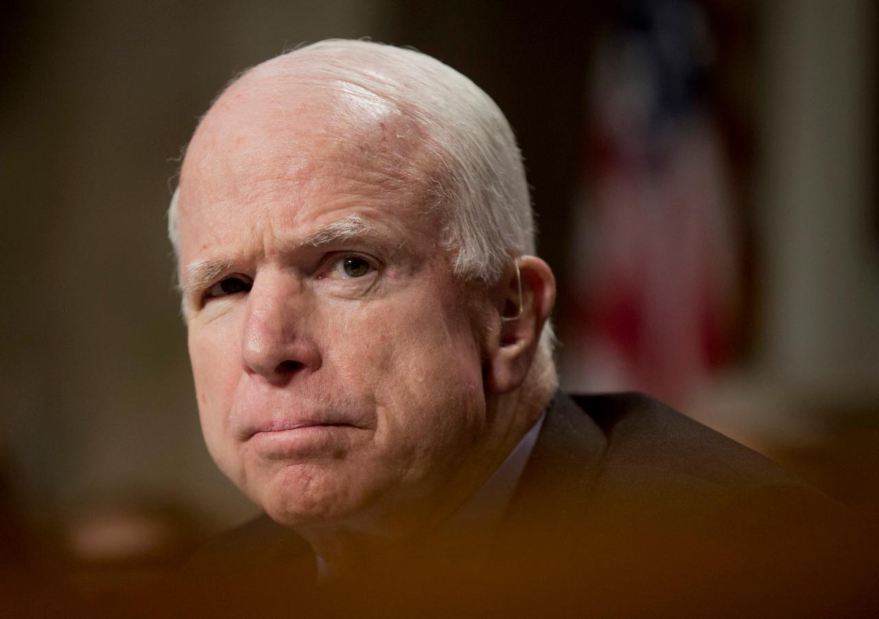 McCain blasts Republicans for 'loose talk' on torture