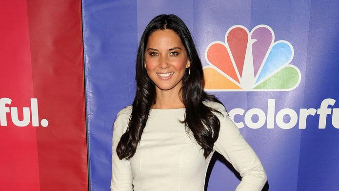 Olivia Munn attends the 2010 NBC Upfront presentation at The Hilton Hotel on May 17, 2010 in New York City.