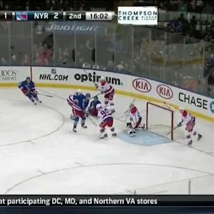 Braden Holtby Save on Carl Hagelin (03:58/2nd)