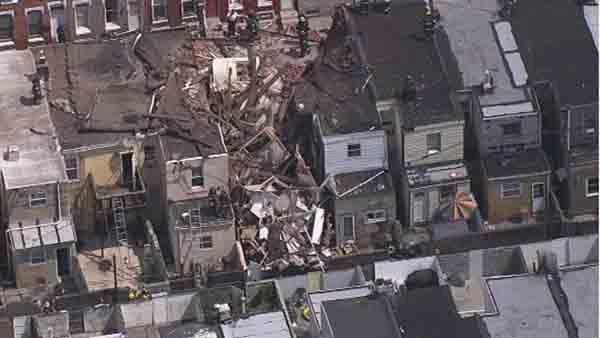 City confirms explosion in South Philadelphia collapse; 8 injured