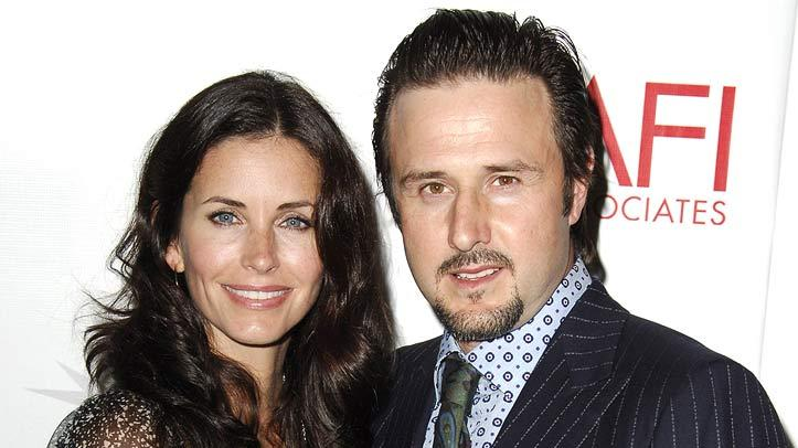 Courteney Cox Arquette and David Arquette