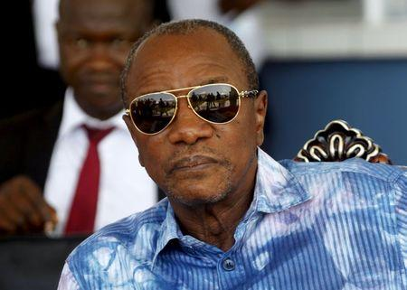 Guinea's Conde drops final campaign rally amid security worries