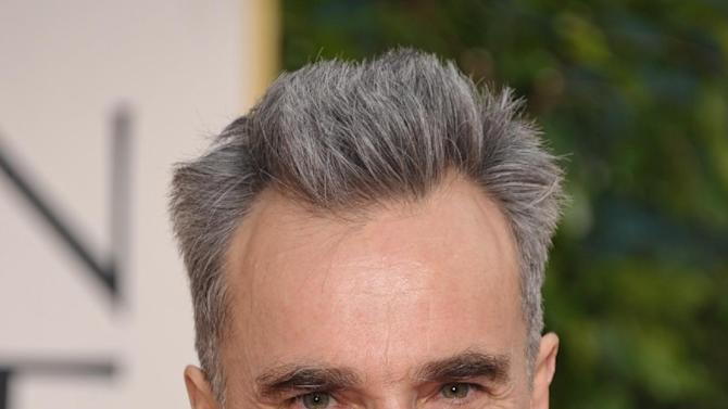 Actor Daniel Day-Lewis arrives at the 70th Annual Golden Globe Awards at the Beverly Hilton Hotel on Sunday Jan. 13, 2013, in Beverly Hills, Calif. (Photo by John Shearer/Invision/AP)