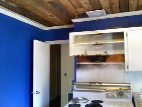 We repaired a smoke-damaged home for $500
