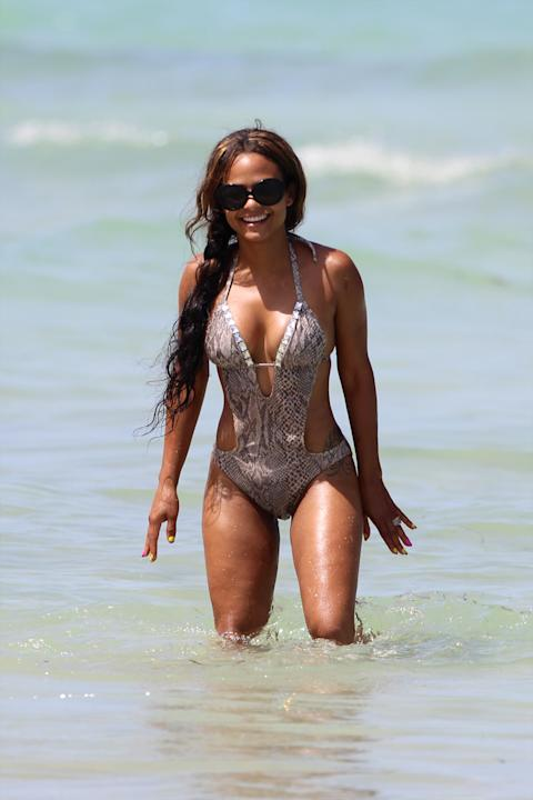 Christina Milian/Splash