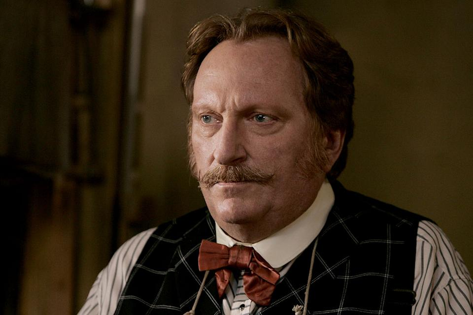 Jeffrey Jones stars in Deadwood on HBO.