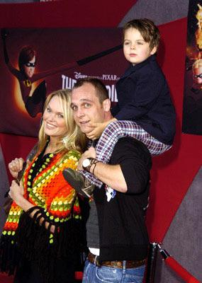 Premiere: Ethan Embry, son Cogeian and Sunny Mabrey at the Hollywood premiere of Disney and Pixar's The Incredibles - 10/24/2004