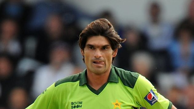Mohammad Irfan was on form for Pakistan