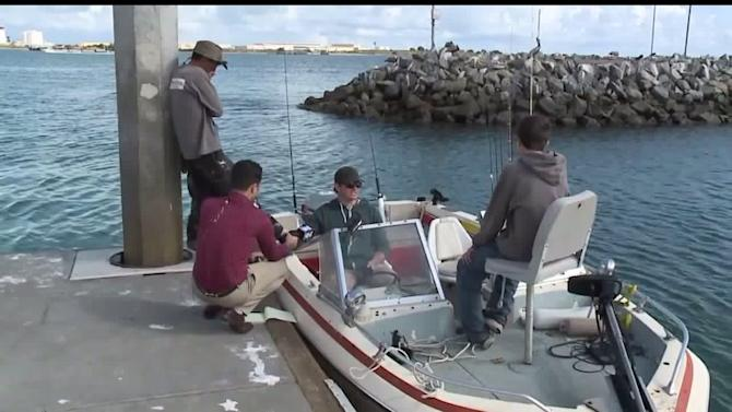 Fishermen Speak About Pulling Pilot to Safety