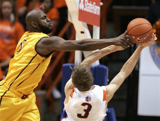 Boise State beats Wyoming 68-61