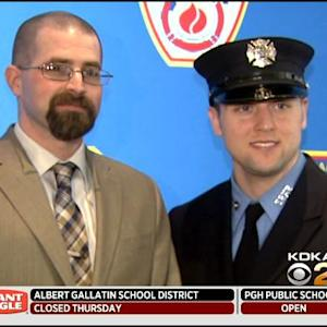 Local Marine Veteran Meets FDNY Firefighter Who Saved His Life