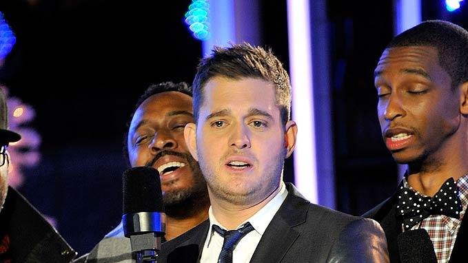 Michael Buble Rockefeller Tree Lighting