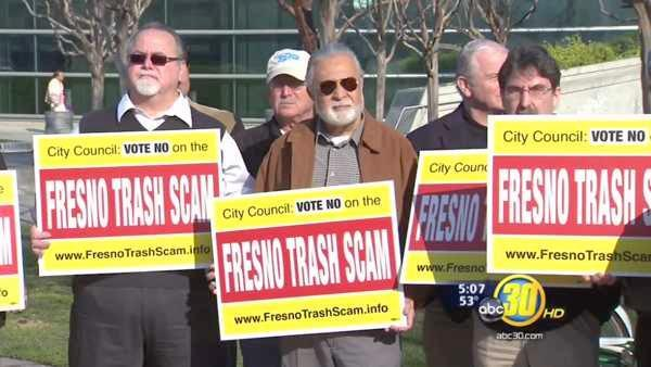 Last-ditch effort to overturn Fresno's trash outsourcing