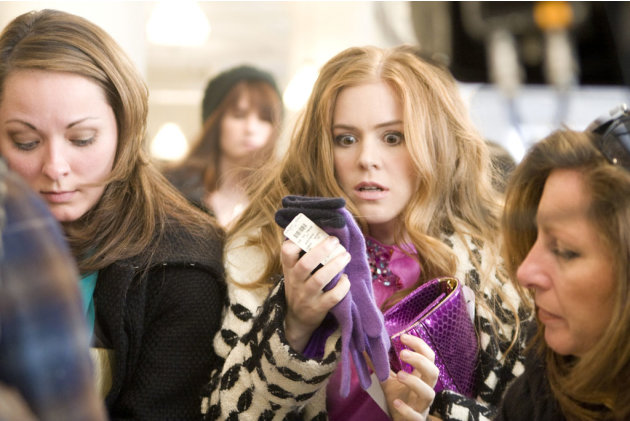Isla Fisher Confessions of a Shopaholic Production Stills Touchstone 2009