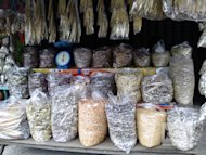 The town of Damortis in La Union, particularly in the small barangay of Sto. Tomas., is known for its dried-fish market, which can rival the more famous Tabo-an Market in Cebu.
