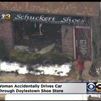 Car Crashes Into Bucks County Store