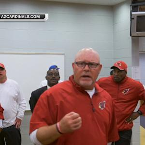 Arizona Cardinals head coach Bruce Arians: 'It was real pretty at the end'