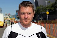 File photo shows Floyd Landis at the 2010 Tour of California in 2010 in Los Angeles, California. Lance Armstrong has countered that witnesses, such as admitted dope cheat Landis, aren't credible, while others may have grudges against him
