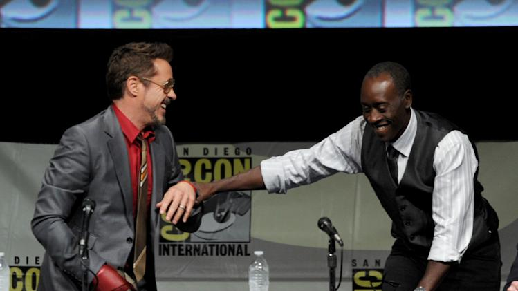 "Marvel Studios ""Iron Man 3"" Panel - Comic-Con International 2012"