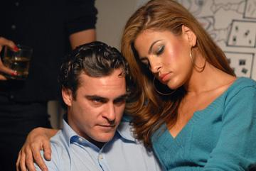 Joaquin Phoenix and Eva Mendes in Columbia Pictures' We Own the Night