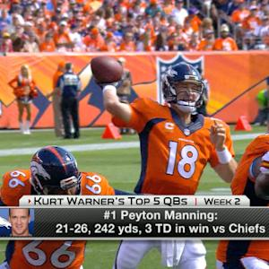 Kurt Warner's Top 5 Quarterbacks