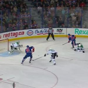 Kari Lehtonen Save on Nikita Nikitin (06:59/1st)