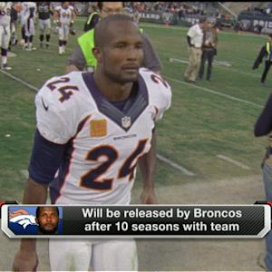 Champ Bailey will be released by Broncos