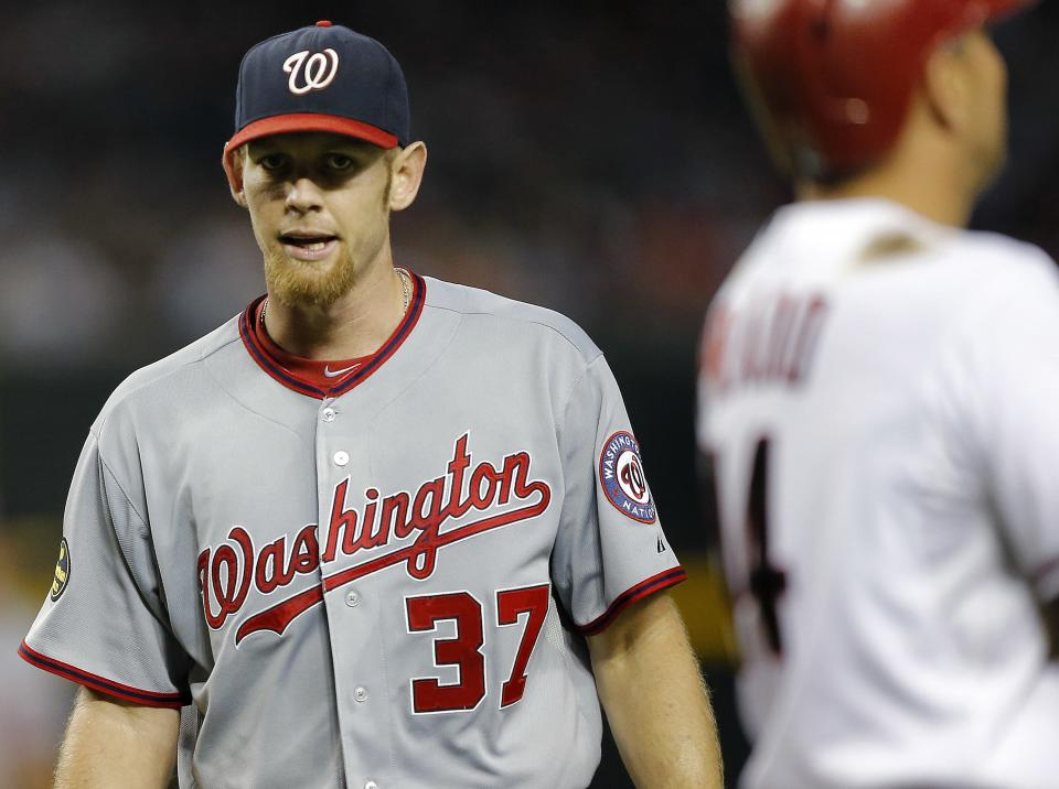 Strasburg, Werth power Nationals past Arizona 8-4