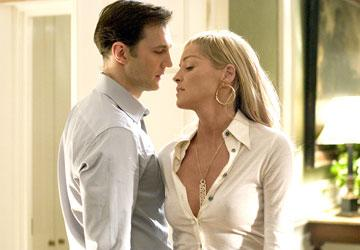 David Morrissey and Sharon Stone in Columbia Pictures' Basic Instinct 2
